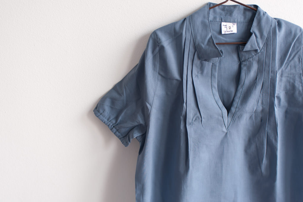 Modelo camisola voile lisa