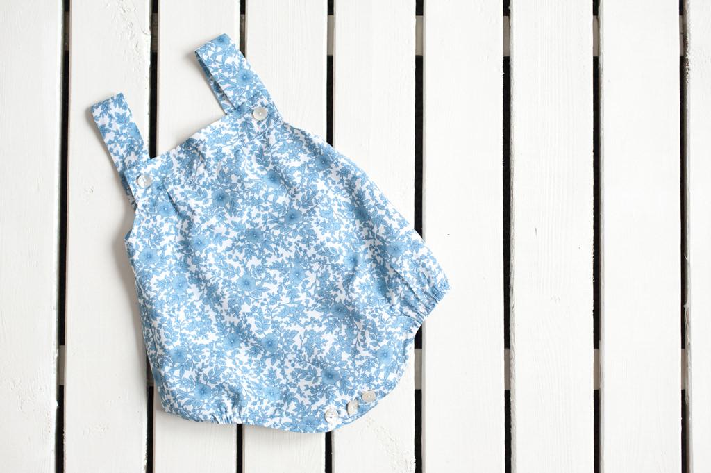 Ranita, estampado chelsea azul