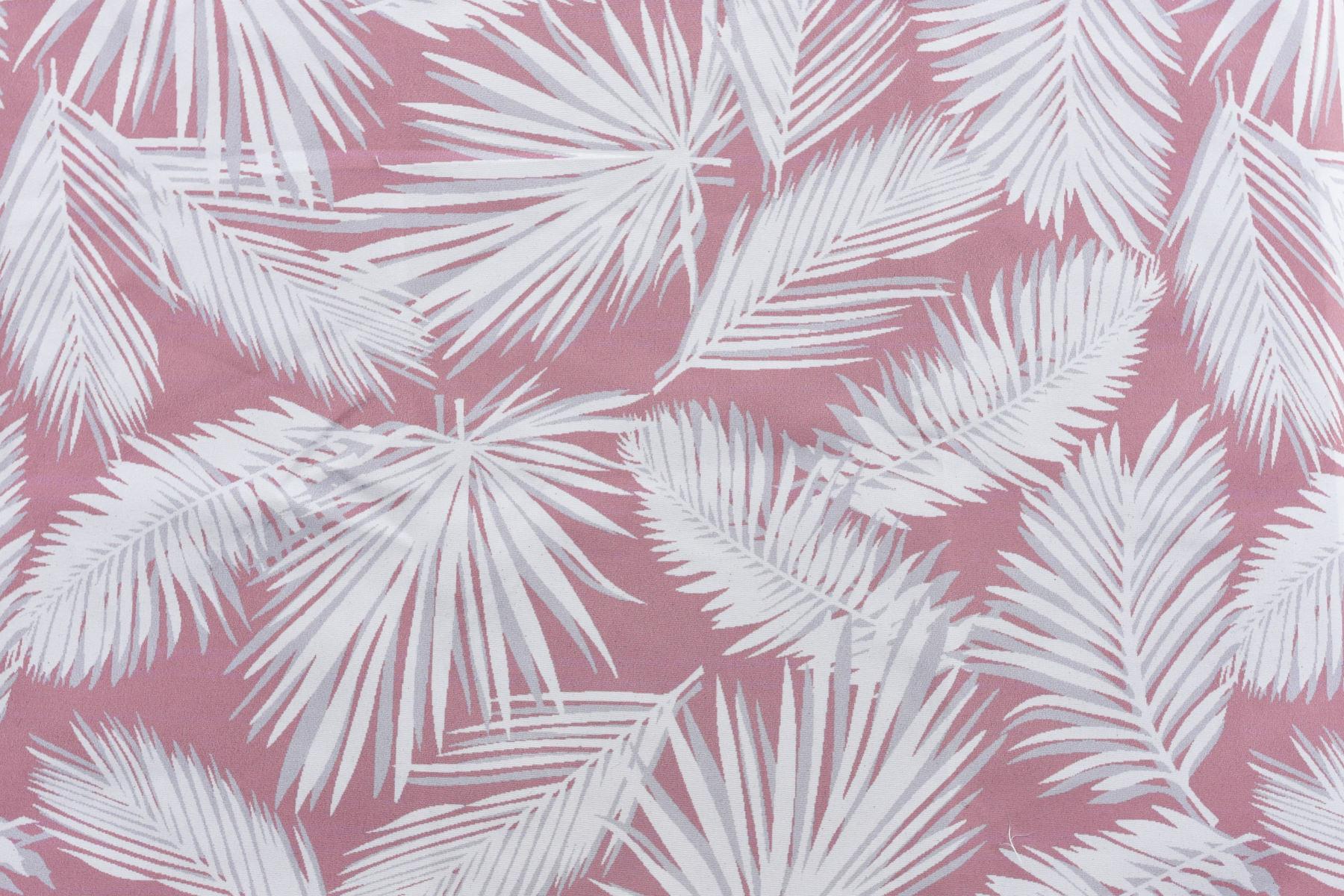 Estampado palmas rosa
